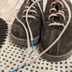Dansko Men's Blue Suede Shoes sz 9.5